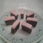 Posni rozen kolač s makom