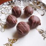 Posne čokoladne kuglice s narandžom