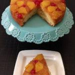 Prevrnuti kolac sa ananasom