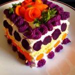 Slana torta s batatom i sunkom