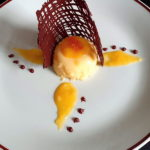 Mousse vanilija sa preljevom od narance