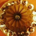 Narandza kolac sa cokoladnom glazurom