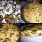 Pita s gljivama i sirom