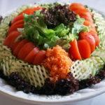 Dekorativna salata od povrća