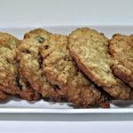 Posni keks od ovsenih pahuljica, kokosa i badema