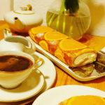 Narandza rolat s maskarponeom i bijelom cokoladom