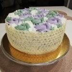 Kokos mascarpone borovnice torta