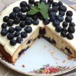 Torta sa borovnicama,  sirom i pavlakom