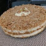 Muhallebi u obliku torte