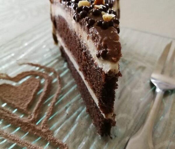 Torta s dvije kreme