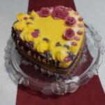 Rafaelo torta sa borovnicama