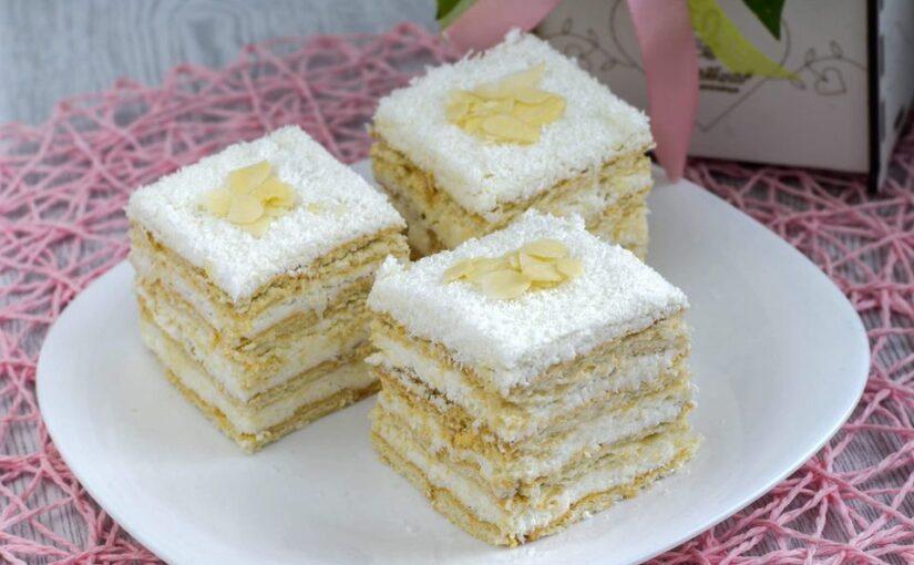 Rafaelo kolač bez pečenja i kuvanja
