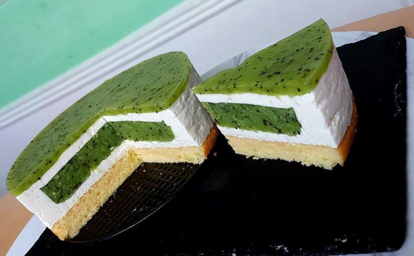 Jogurt kivi torta