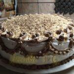 Posna torta s lješnjacima i čokoladom