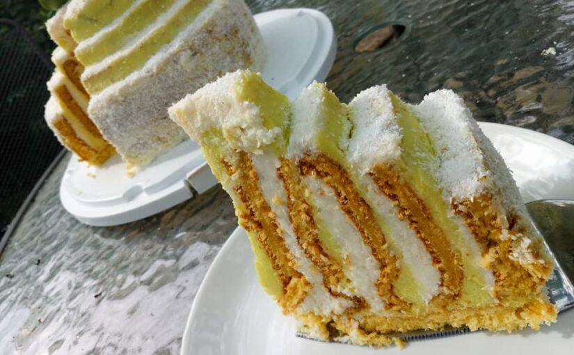 Torta od limete i kokosa