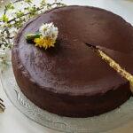 Čokoladna torta sa ganache glazurom