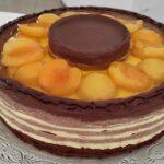 Choco Apricot cake