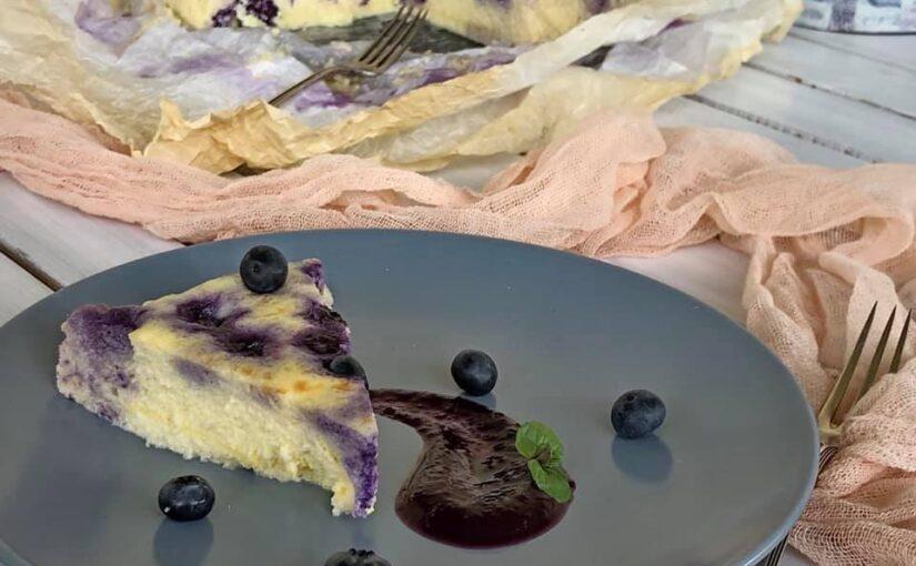 Torta od ricotte s borovnicama