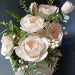 Cvetna torta s malinama