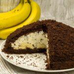 Krtica kolač s bananama