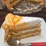 Torta od mrkve krem sira i narandže